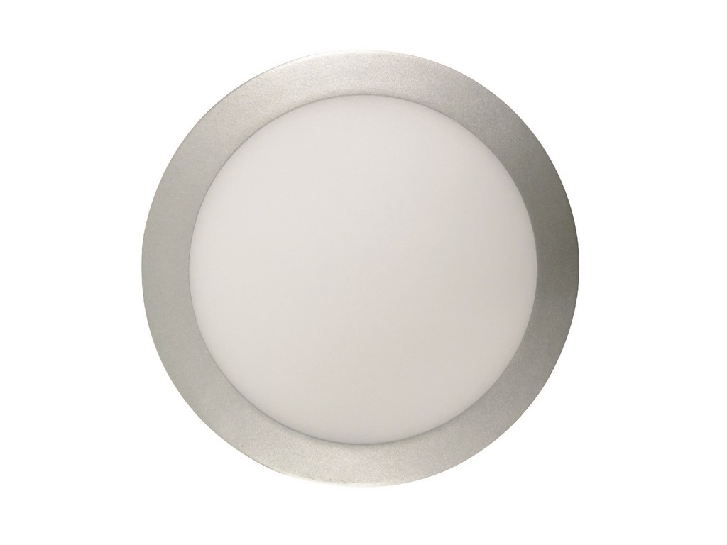 DOWNLIGHT LED EMPOTRABLE EXTRAPLANO REDONDO UGR<19  CORTE 200MM 18W 6000K 100º 230V INOXIDABLE