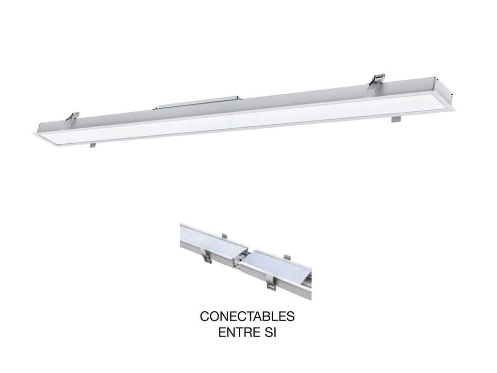 PANEL EMPOTRAR LED 1200MM 40W 4200K 120º 230V