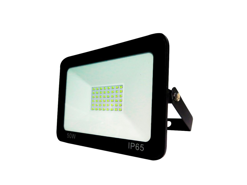 PROYECTOR LED EXTRAPLANO IP65 50W 6500K 230V NEGRO FBRIGHT ECO