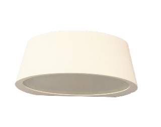 APLIQUE LED DECO IP54 3,4W 3000K 100º 230V BLANCO