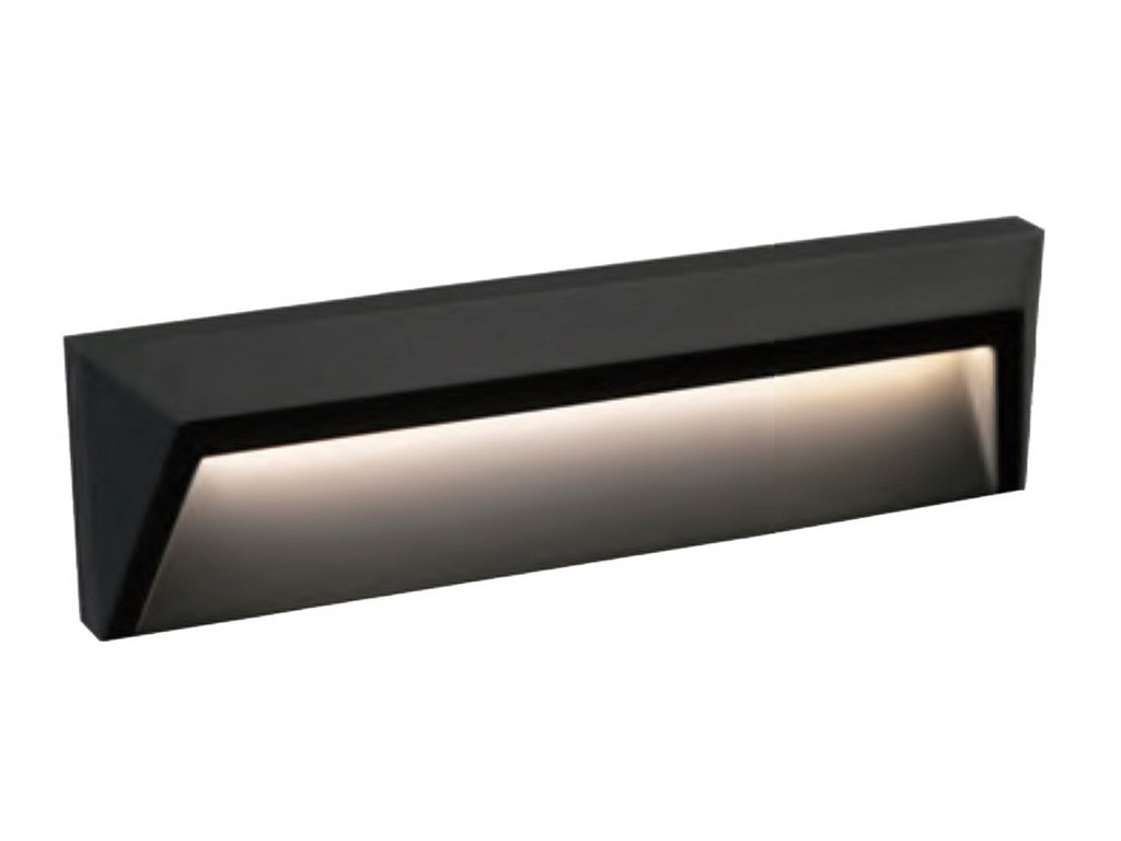 APLIQUE PARED LED IP65 1,6W 3000K 120º 230V
