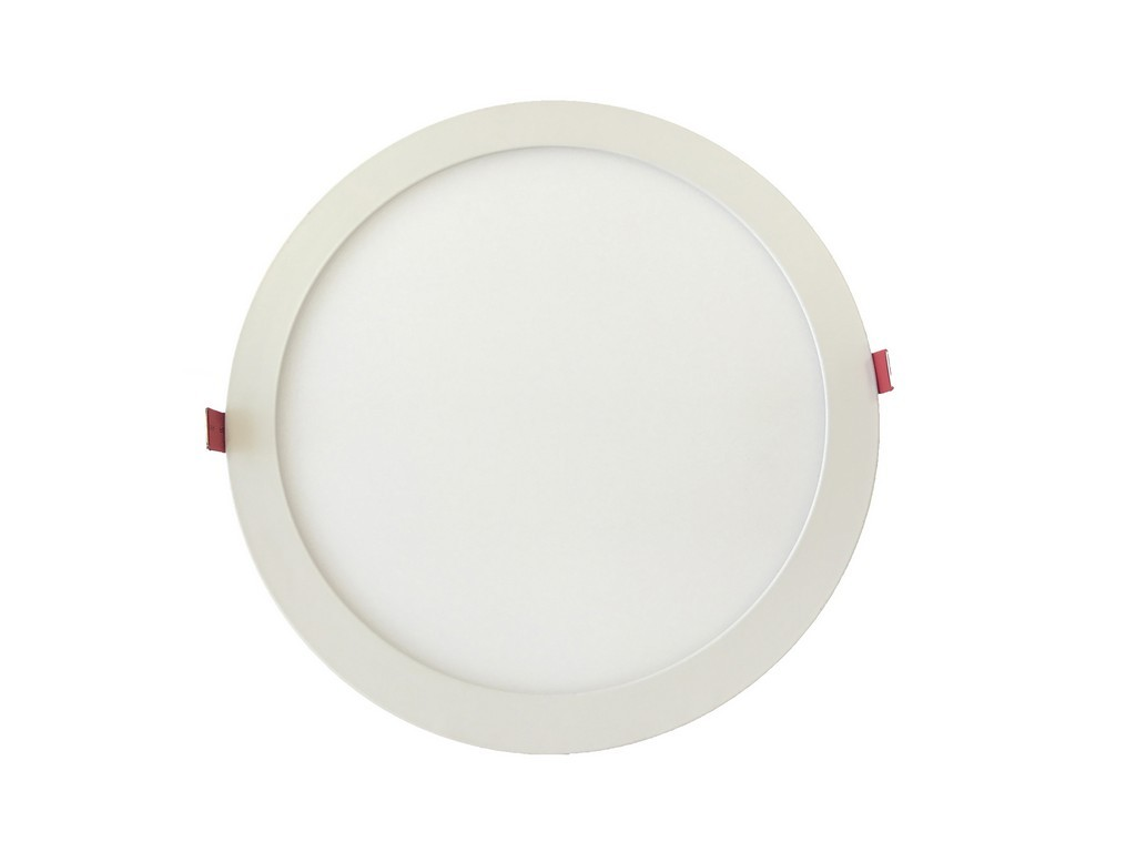 DOWNLIGHT LED EMPOTRABLE EXTRAPLANO REDONDO UGR<19  CORTE 200MM 18W 4000K 100º 230V