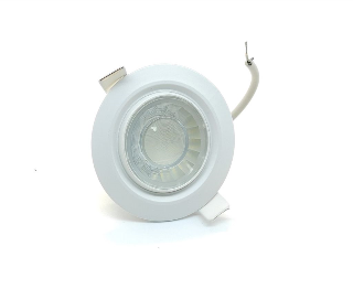 DOWNLIGHT LED EMPOTRABLE ORIENTABLE REDONDO BLISTER CORTE 75MM 8W 6000K 90º 230V